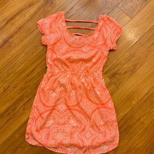 AOE Strappy Fall Dress